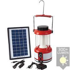 Solarverlichting Solar Lantaarn Muscle Met Los Solarpaneel Op