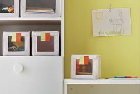 Children's small storage SLKTING from IKEA, is the perfect home for toys  and clothes.