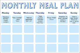 Daphne Oz S Meal Planning Calendar The Dr Oz Show