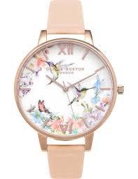 OLIVIA BURTON - OB15PP12 Hummingbird rose gold-plated watch | Selfridges.com