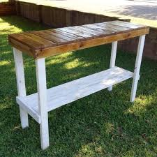 Pallet Entry Table 150 Wonderful Pallet Furniture Ideas