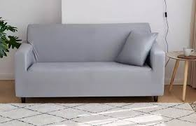3 seater sofa cover light grey