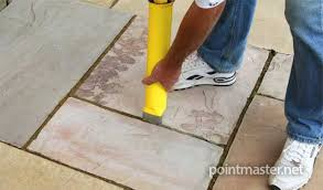 mortar mix for patio slabs er than