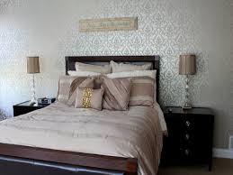 Master Bedroom Wallpaper Wallpaper Bedroom Bedroom Attractive Wallpaper Design Ideas Cream