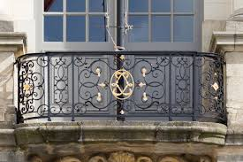 wrought iron fence victorian. Luxurious Victorian Style Wrought Iron Balcony Railing Design With Scroll  Pattern Fences On Rustic Concrete . Wrought Iron Fence Victorian