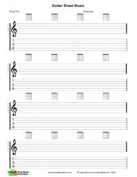blank sheet music book free pdf guitar mandolin and ukulele chord and music charts free