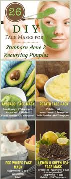homemade diy face masks for acne