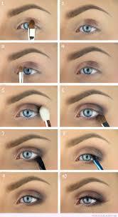 homeing makeup ideas blue eyes