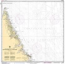 Chs Nautical Chart Chs8046 Button Islands To A Cod Island