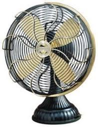 retro desk fan. Modren Retro Casablanca Zephair Desk Fan Satin Brass Accents Hunter Red Retro Fan On Retro C