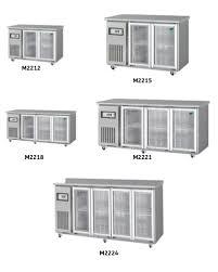 commercial under bench fridge artisan