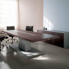office table ideas. Furniture Office Tables Designs Rectangle Shape Black Wooden Storage Cabinets Cream Color Granite Countertop Table Ideas