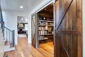 af home office. barn doors make it easier to find space for the home office design af