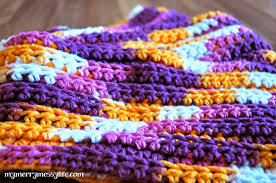Double Crochet Scarf Patterns Mesmerizing Easy Crochet Scarf Ribbed Stair Pattern Free Crochet Pattern