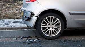 car per after collision