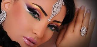 arabic bridal makeup tutorial with steps pictures