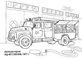 Small Picture On Fire Trucks Colouring Pages Fire Truck Coloring Page In Vehicle