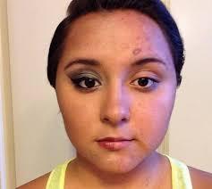 you half face makeup