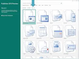 Microsoft Templates For Publisher A Fresh Start With Templates Microsoft 365 Blog