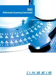 Dsc Pt1000 Differential Scanning Calorimeter Linseis