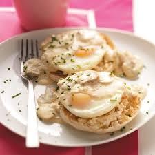 mushroom breakfast recipes and ideas quick eggs benedict