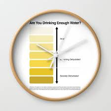 Medical Urine Color Chart Pee Color Chart Urine Color Chart Wall Clock By Kelsorian