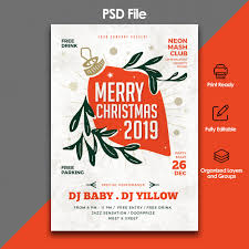 Meet And Greet Flyers Templates Christmas Party And Celebration Flyer Template Psd File