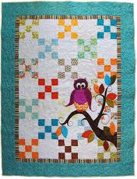 Baby Quilt Pattern PDF // Owl Quilt Pattern PDF // Baby shower & Baby Quilt Pattern PDF // Owl Quilt Pattern PDF // Baby shower Gift //  Appliqué Pattern // Child's Quilt Pattern // Adamdwight.com