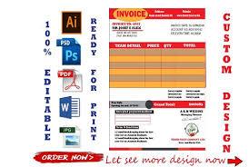 How To Create A Professional Invoice Create Professional Invoice Template Or Quotation Form
