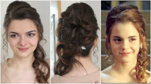 You Tube Hair Style hermiones yule ball hair tutorial youtube 2285 by wearticles.com