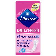Ежедневные прокладки Libresse Dailyfresh Deo ... - ROZETKA