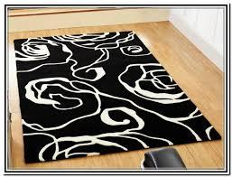 minimalist living room style black white area rug nice blue area rugs