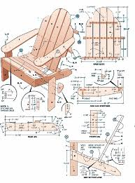 adirondack chair plans. Plans For Adirondack Chair S
