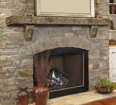 ranier 72 stone fireplace mantel shelf