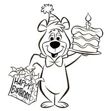 You can download yogi the bear coloring page for free at coloringonly.com. Patrick Owsley Cartoon Art And More Yogi Bear Birthday Art Bear Coloring Pages Dinosaur Coloring Pages Christmas Coloring Pages