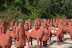 stock image of terracotta army chinese warriors solrs statue oriental s