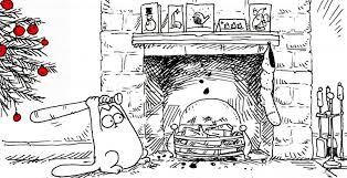 Simon's Cat and the Christmas tree