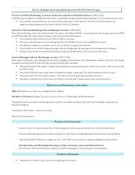 Sales And Marketing Resume Samples Sales And Marketing Resumes Sample Sales Resumes Store Manager 65