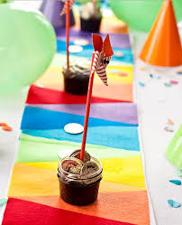 view in gallery rainbow felt table runner from say yes