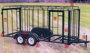 trailer hitch suspension system available comes springs and equilizers this allows all four tires to remain in contact the road all 2 axle trailers come