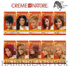 Creme Of Nature Permanent Hair Color Chart Creme Of Nature Argan Oil Exotic Shine Permanent Hair Color