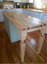 For Kitchen Island Hard Maple Island Leg A Perfect Fit For Kitchen Design Osborne