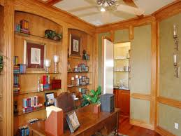 office wet bar. Green Craftsman Home Office With Hidden Wet Bar T