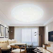 White Modern Living Room Amazing VGO 48W LED Ceiling Light Living Room Lamp Changing Color Modern