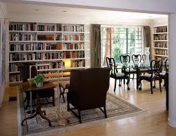 bookcase designs living rooms. a dedicated reading zone in the large dining room adds to appeal of library bookcase designs living rooms