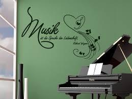 Wandtattoo Musik Ist Die Sprache Zitate Wandtattoo Shop Für