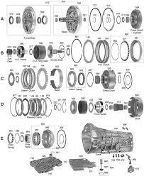 e4od 4r100 automatic transmission rebuild kits e4od 4r100 e4od parts illustration