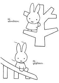 Miffy Coloring Pages Coloringpages1001com
