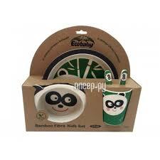 <b>Набор посуды Eco</b> Baby Панда 500121, купить в Рязани ...
