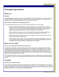 prenup samples 30 prenuptial agreement samples forms template lab